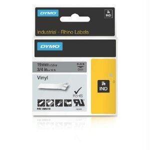 Dymo Rhino 3-4in Gray Vinyl-19mm
