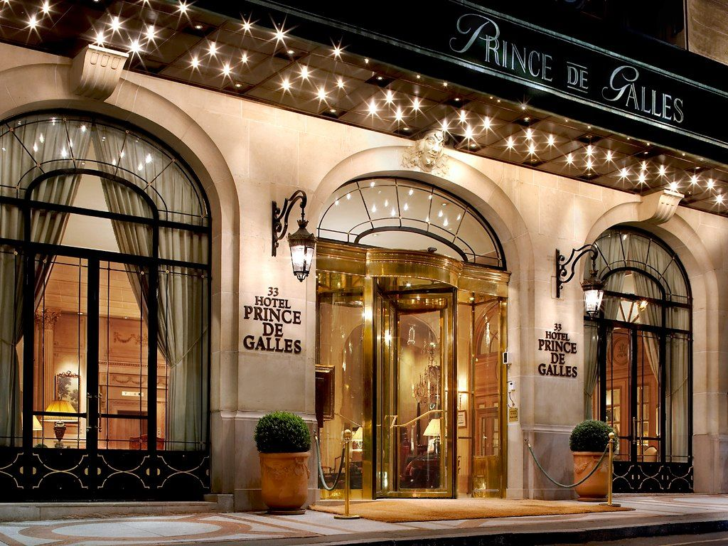 Prince De Galles A Luxury Collection Hotel Paris Paris France