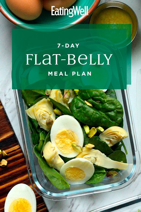 7-Day Flat-Belly Meal Plan – Carey&CleanEatingS