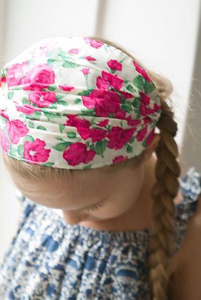 Sailor Rose children Headscarf
