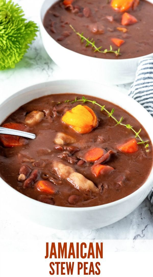 vegan jamaican stew peas is a popular tasty and hearty