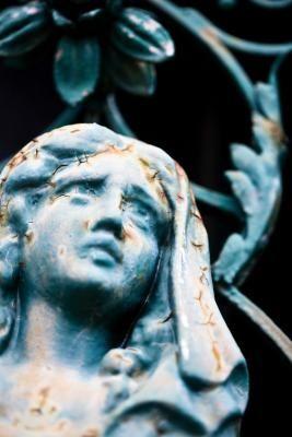 Fix Cement Statues That Have Broken