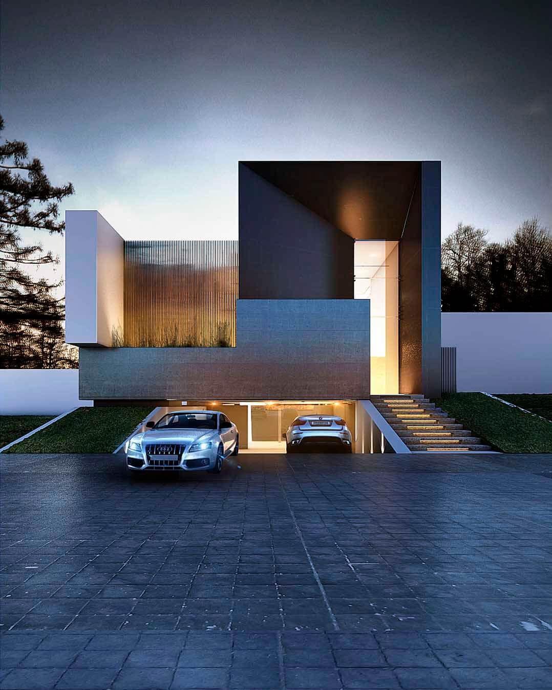 Creato projects casa terra en 2019 arquitectura en la for Casa minimalista vidrio