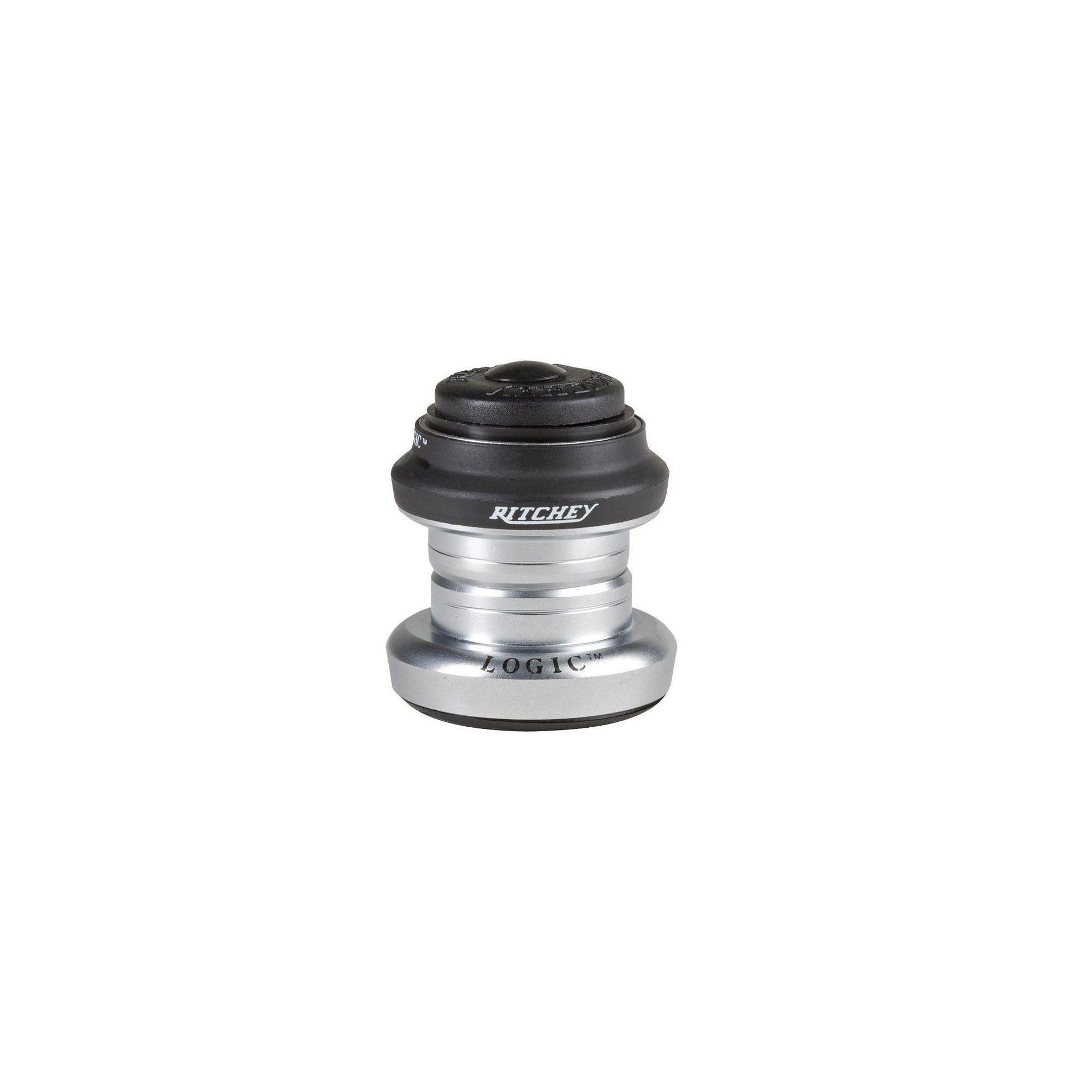 Ritchey Logic 1 Threadless Headset EC30//25.4 EC30//26 Black//Silver