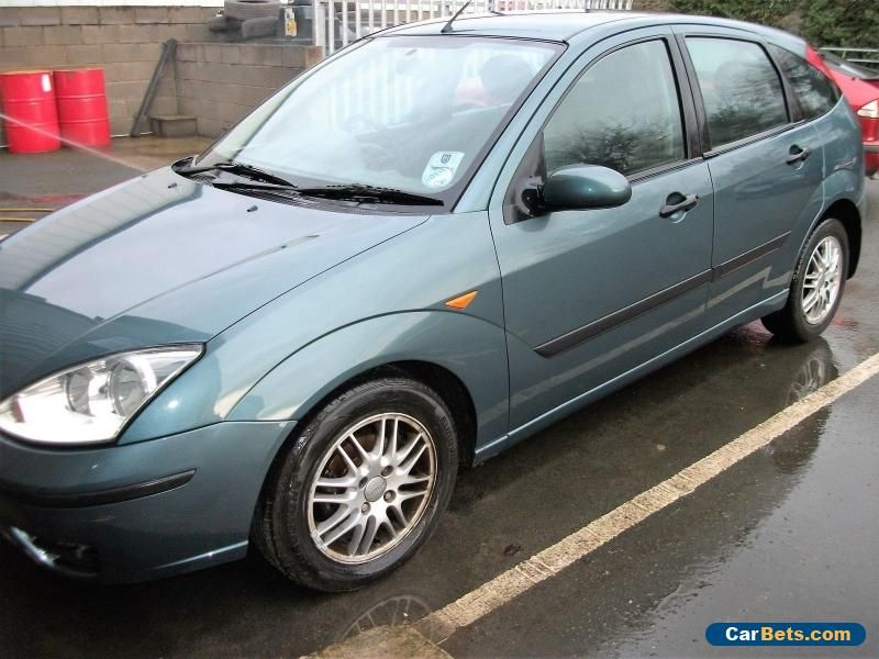 2002 Ford Focus Lx Tdci Green Spares Or Repairs Ford Focuslxtdci