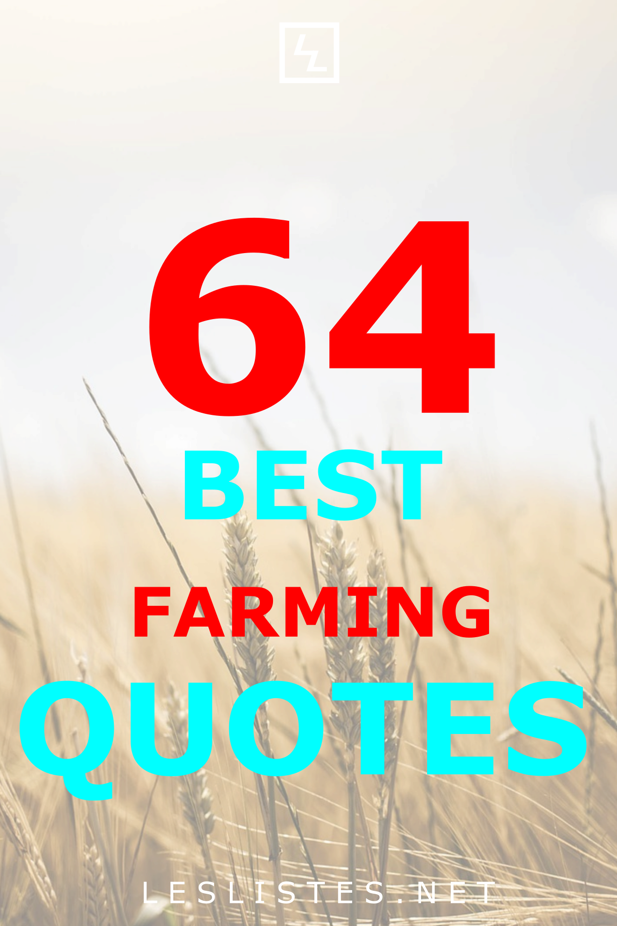 Top 64 Farming Quotes That You Should Know