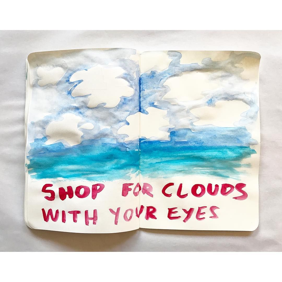 Look up #shopping #clouds #scenery