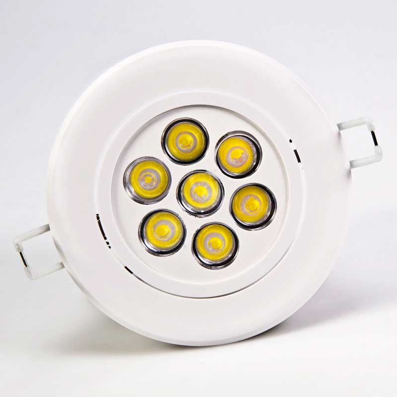 Led Downlight Led Downlight Dimmable 7w 3inch 100 240v Cree Front With Images Led Down Lights Led Ceiling Lights Downlights