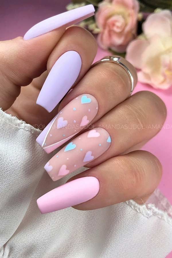23 Beautiful Pastel Nails for Spring 2021 | StayGl