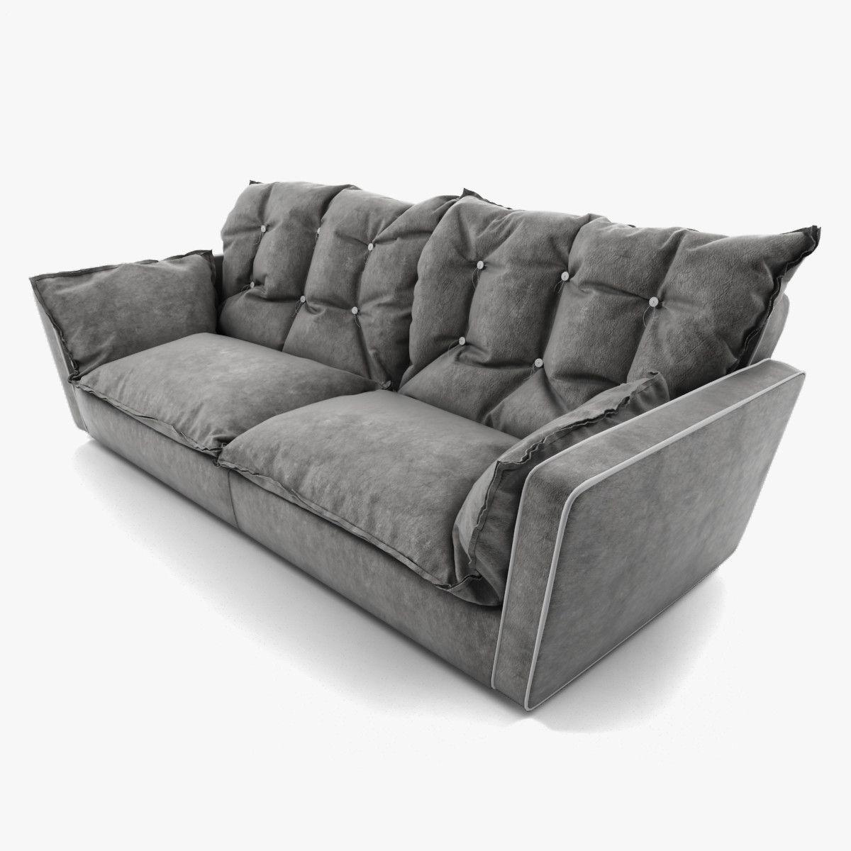 Baxter Sofa Fabric Sets Toronto Sorrento Armchair 3d Models