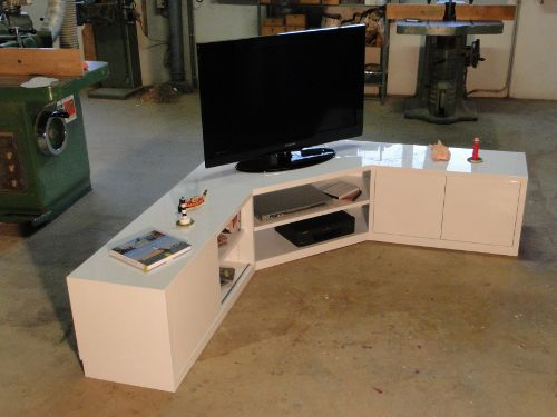 Meuble De Tv En Angle En Magasin Pour Toulouse  Ide Dco Studio