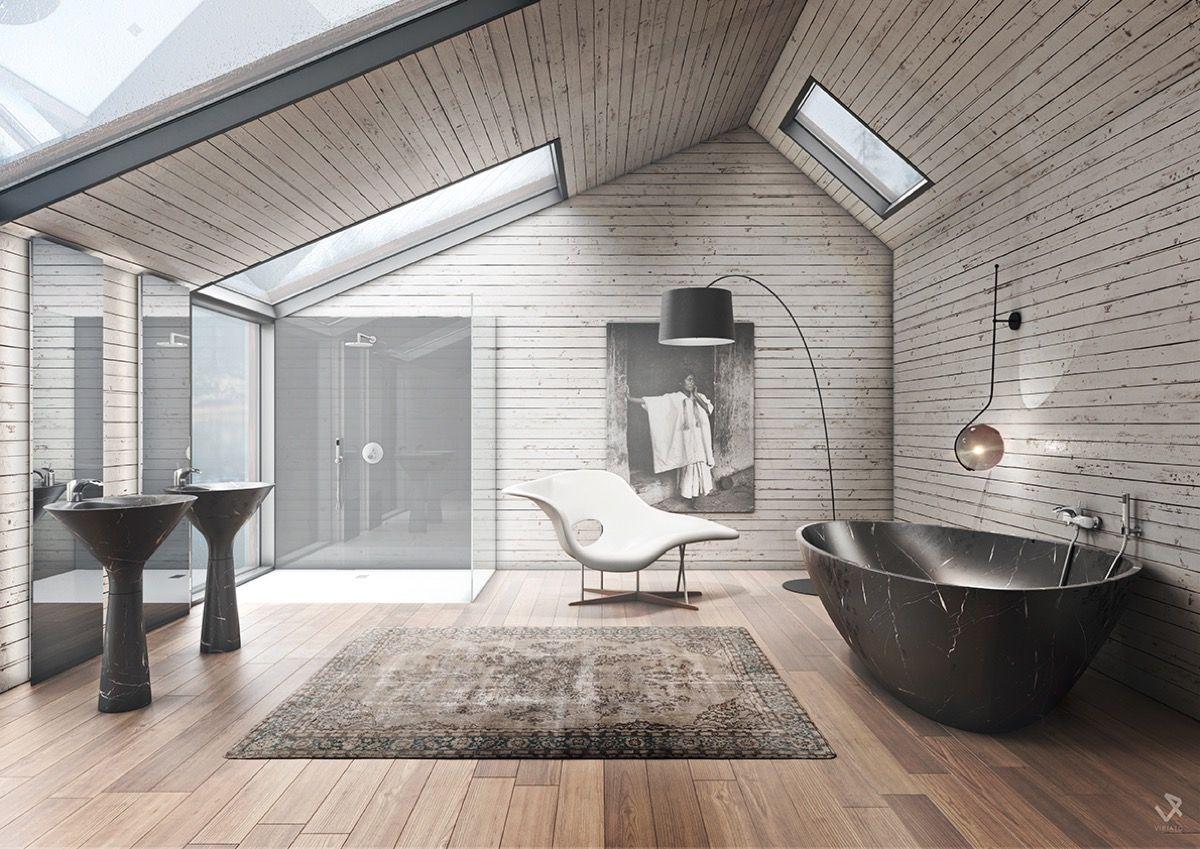 Badkamer design hout manman bad pinterest badkamer ideeën en