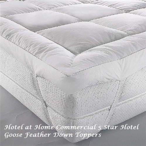 Luxury Goose Feather Down Topper As Used In Some Sofitel Hotels Uk Mattress Mattress Single Bed Mattress