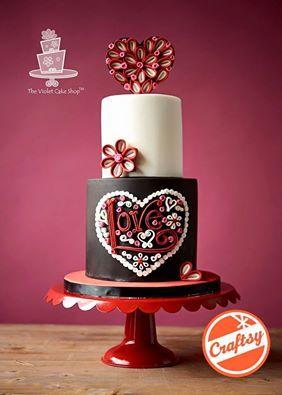 'LOVE' cake