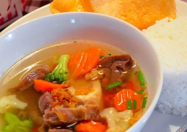 Resep Sop Daging Sapi Bening Oleh Mrs Primpuna Resep Resep Sup Resep Makanan Sup Sayuran