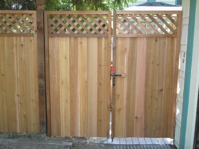 Wooden Gates & Fences