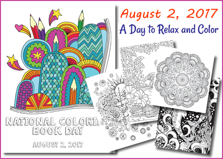 National Coloring Book Day Http Www Coloringbookday Com Coloring Books Book Crafts Free Coloring Pages
