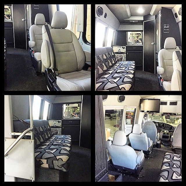 For those of you who were curious as to what the inside of the #battlebus looks like here's what it currently looks like....going to be changing it all sometime soon! Imagine an armory/high end modern hotel room! #fab__lab #subjecttochangeatamomentsnotice #modifyeverything