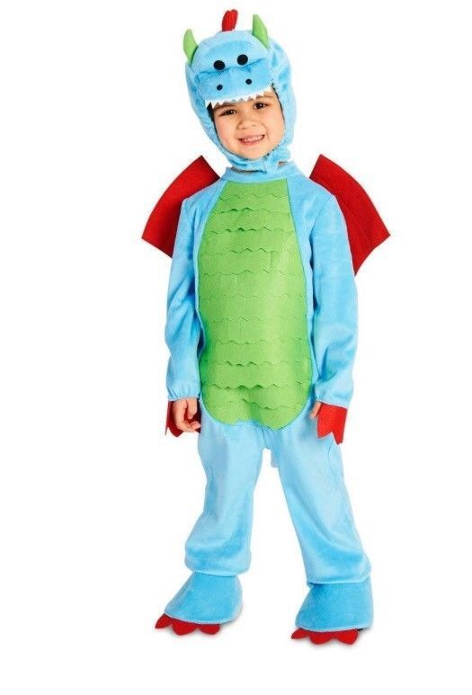 Dream Weavers Toddler Dragon Costume 2T-4T New Blue  sc 1 st  Pinterest & Dream Weavers Toddler Dragon Costume 2T-4T New Blue | Dragon costume ...