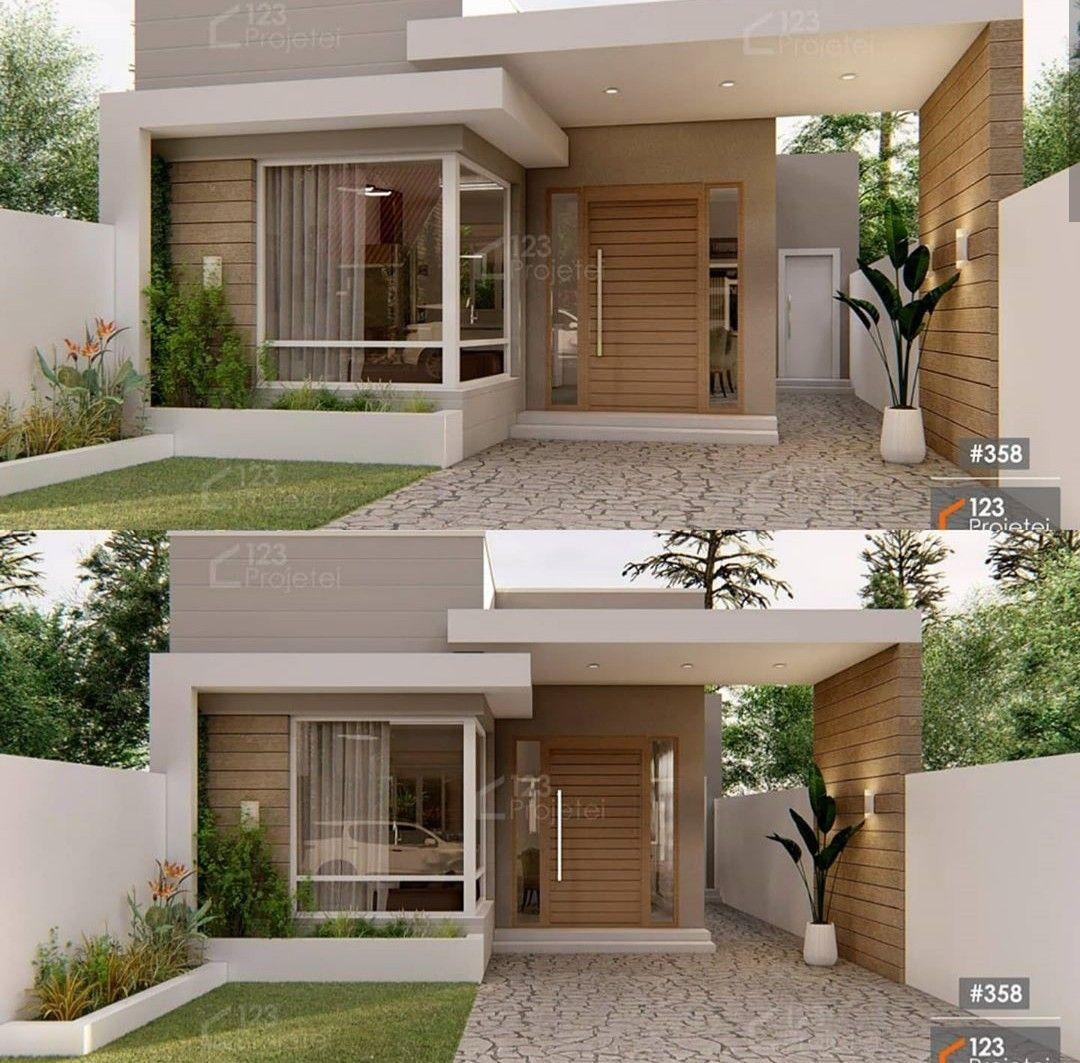 Pin De Kathy Hernandez Em Casa Decoracao Em 2020 Fachadas De Casas Terreas Fachadas De Casas Projetos De Casas Simples