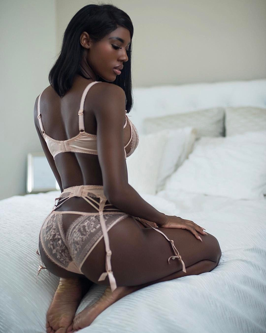 schattige Ebony buit