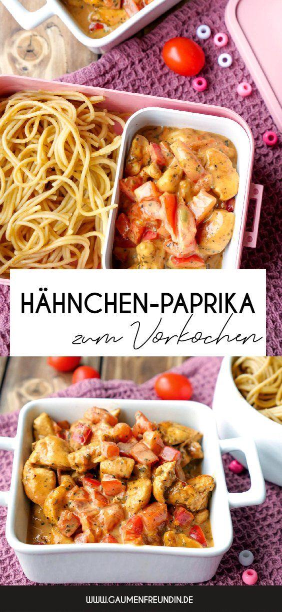 Schnelle Hähnchen-Paprika-Pfanne - ein einfaches Familienrezept