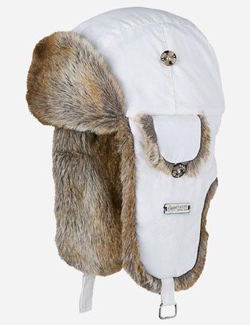 d8f0822f84e Barts Kamikaze Winter Fur Trapper Hat - White