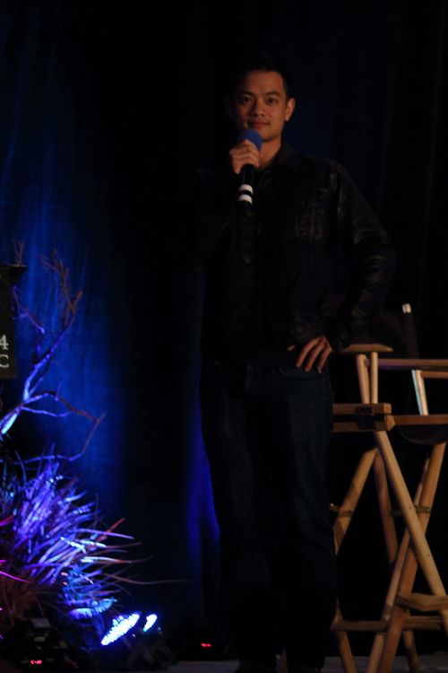 """""""I stalk blogs. I've probably been on your blog.""""Pauses and STARES INTO THIS CAMERA.""""No seriously. I've been on your blog."""" Osric #Vancon Photo credit goes to dracepotter on Tumblr"""