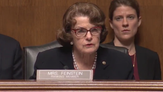 Expel Dianne Feinstein From The Senate Scum Dianne Feinstein Two Party System Investigations
