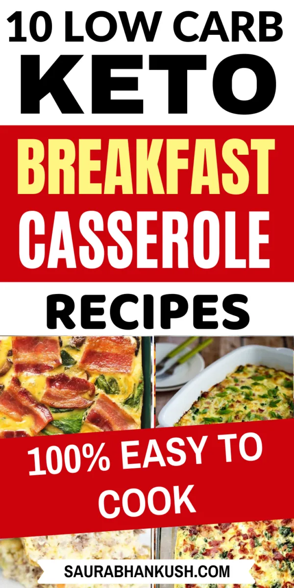9 Keto Breakfast Casserole Recipes – Low Carb Breakfast Casserole Recipes for Ketogenic Diet