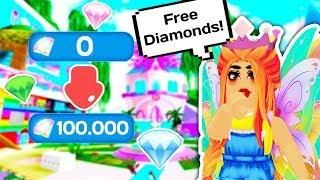 THE EASIEST WAY TO GET FREE DIAMONDS! // Roblox Royale High School