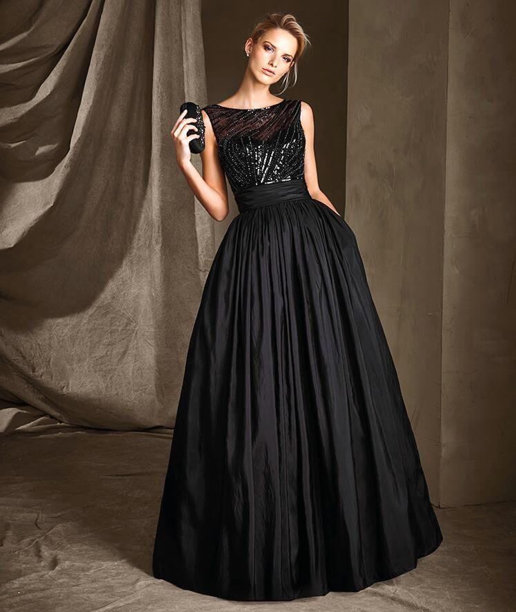 Pronovias Abiye Elbise Modelleri Yeni Kolleksiyonu Elbise Modelleri Elbise Siyah Abiye