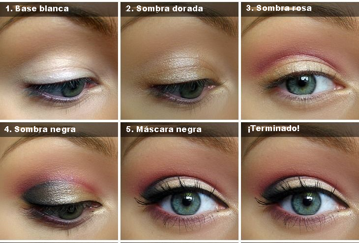 maquillaje luminoso paso a paso - Como Maquillarse Paso A Paso