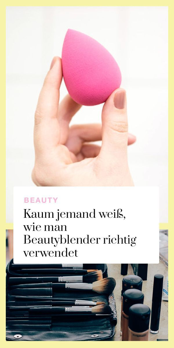 Weisst du eigentlich, wie man den Beautyblender richtig