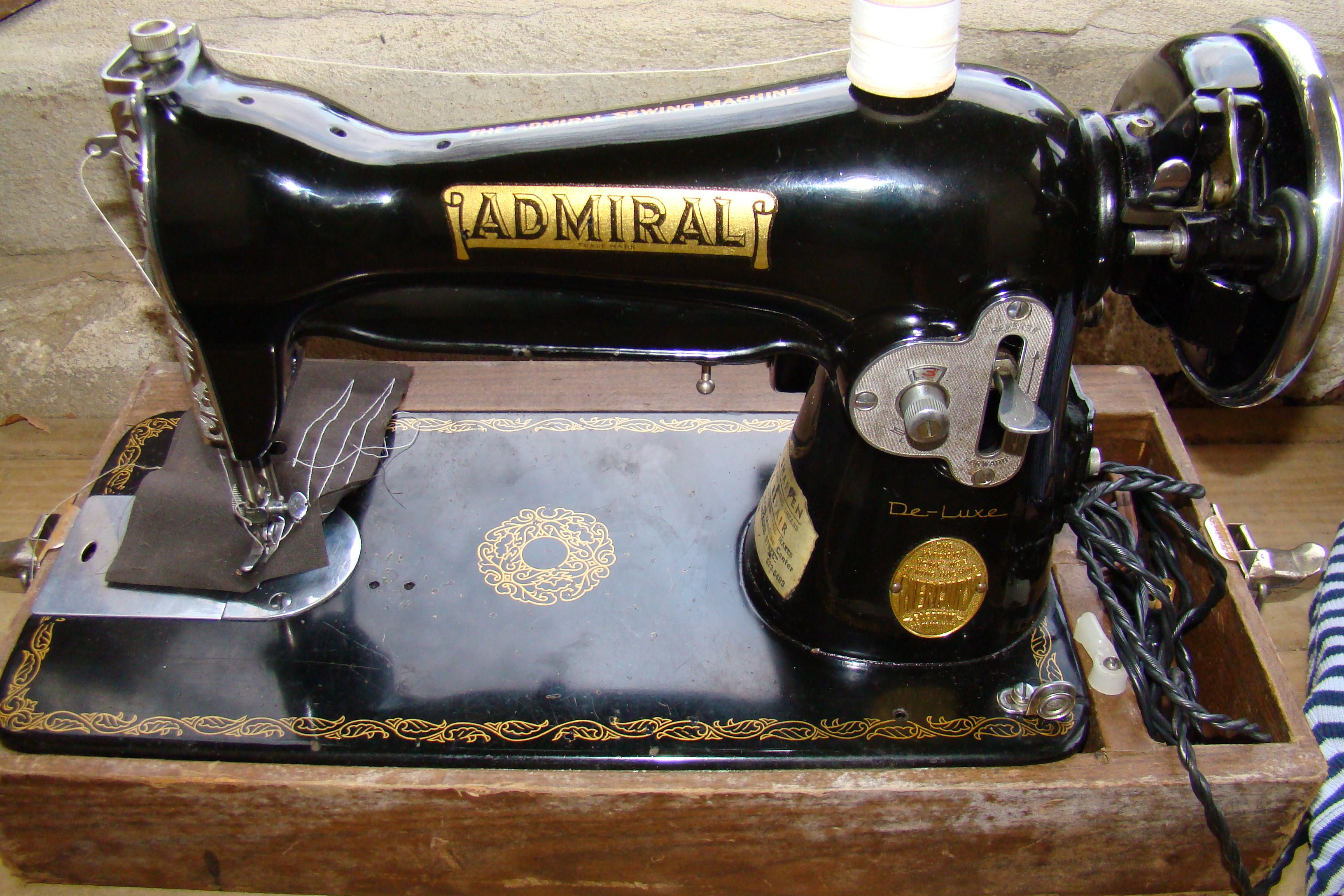 Made in Occupied Japan... | Vintage sewing machines ...