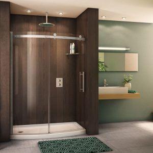 Sliding Glass Shower Door Or Curtain