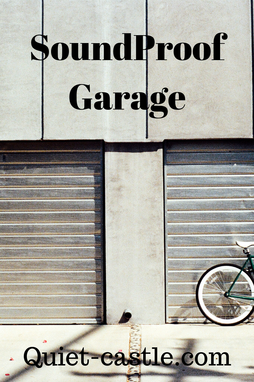 Soundproof Garage How Do I Soundproof My Garage For A