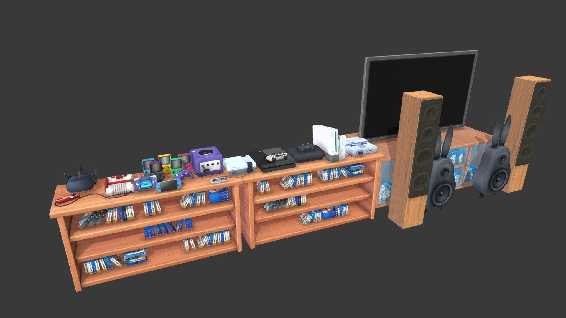 Bitbot Game Asset Storefurniturechallenge Buy Royalty Free 3d