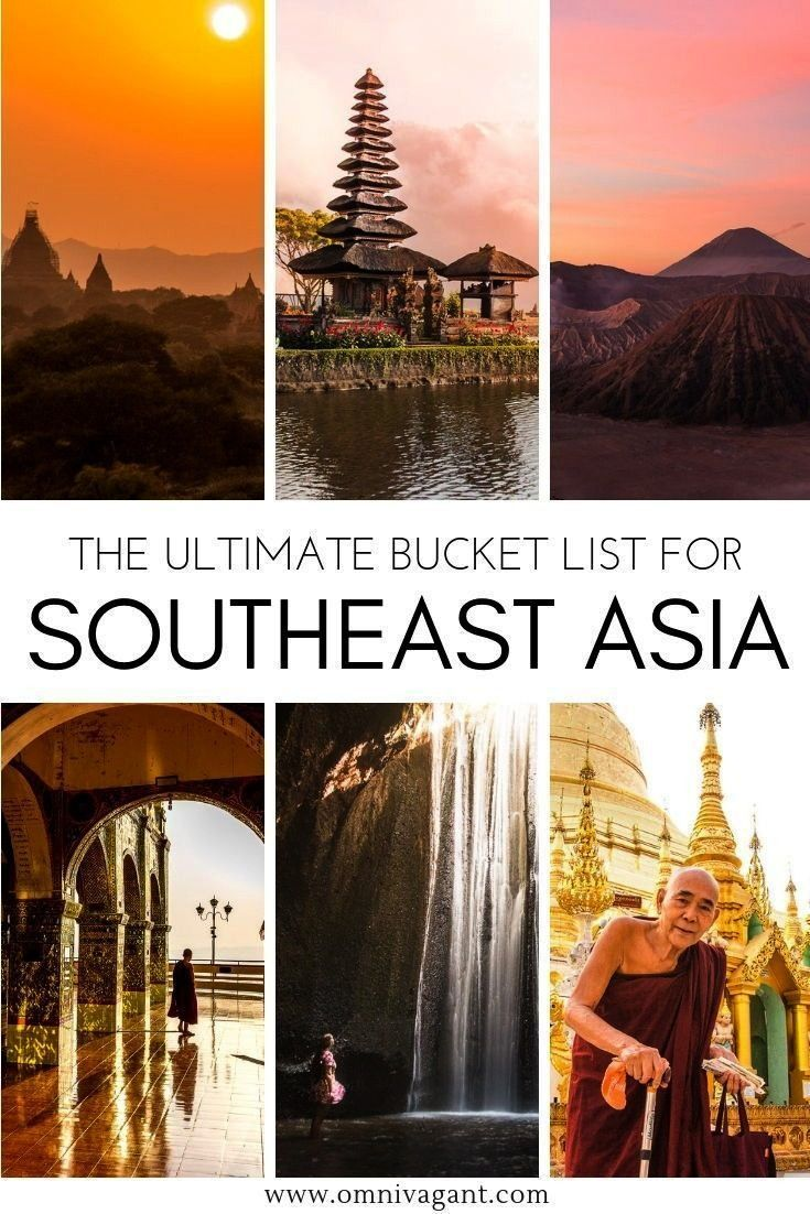 Southeast Asia Bucket List - 80+ Things to do | Omnivagant Traveling to Southeast Asia? Be sure to