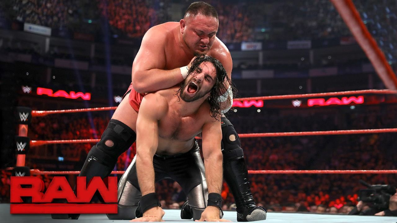 there u0027s only bad blood between seth rollins and samoa joe as they