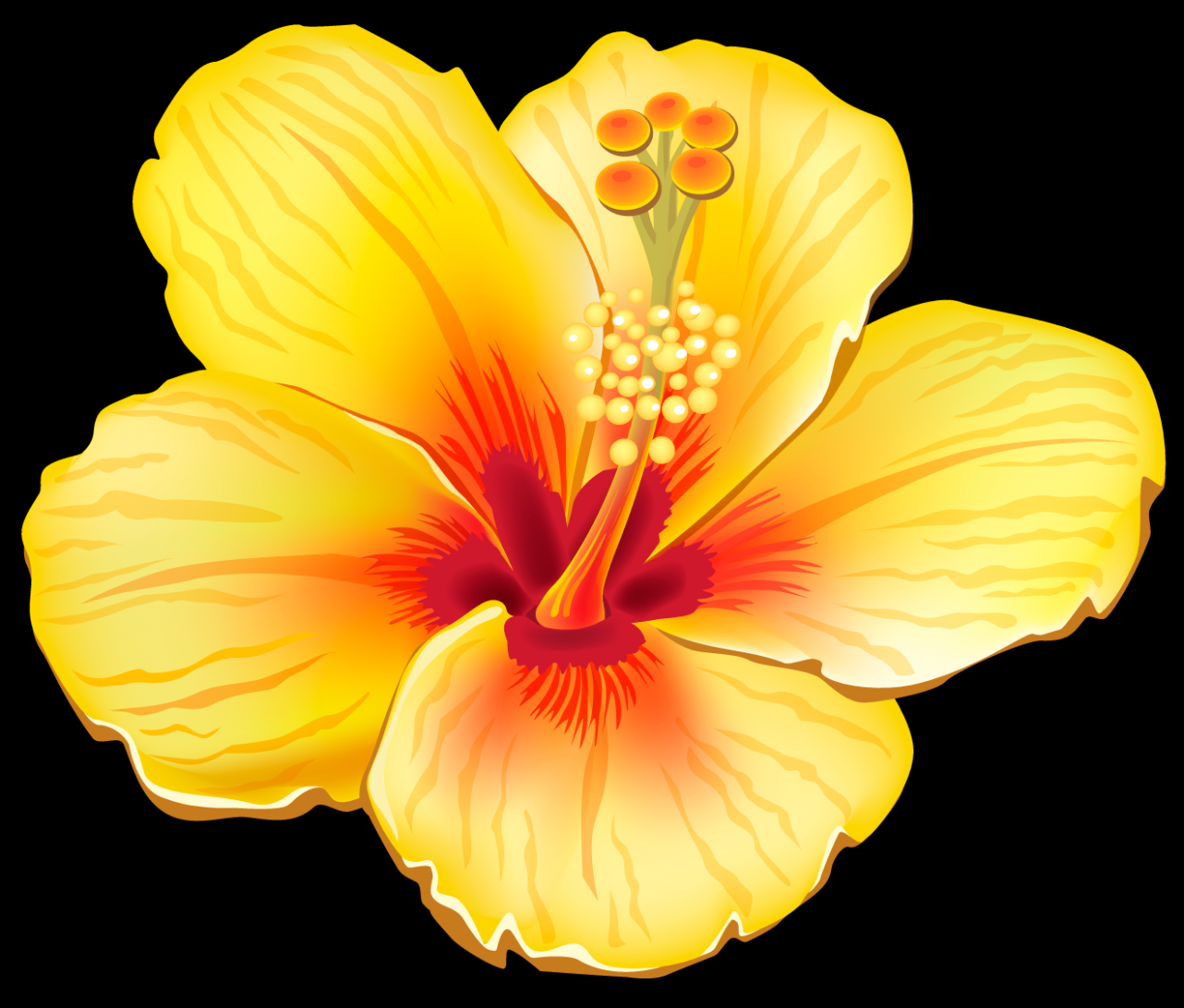 Understanding The Background Of Flowers Clipart Flowers Clipart Http Bit Ly 2nkhlfb Tropical Flower Tattoos Hawaiian Art Tropical Flowers
