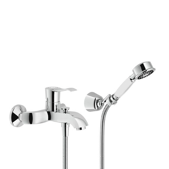 Nobili Sofi exposed, single lever bath/shower mixer with shower - wasserhahn küche mit brause
