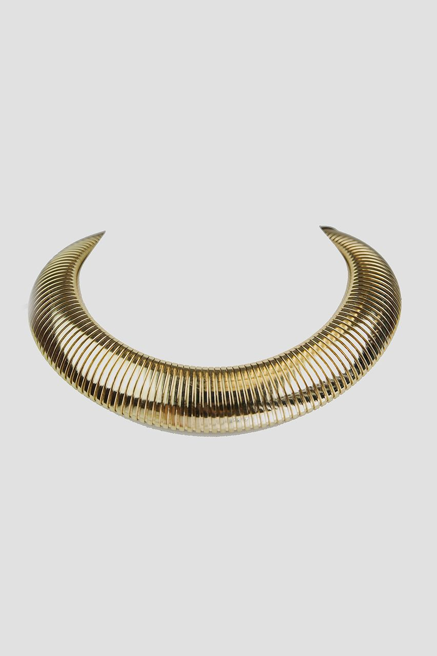 Liara Gold Choker Necklace