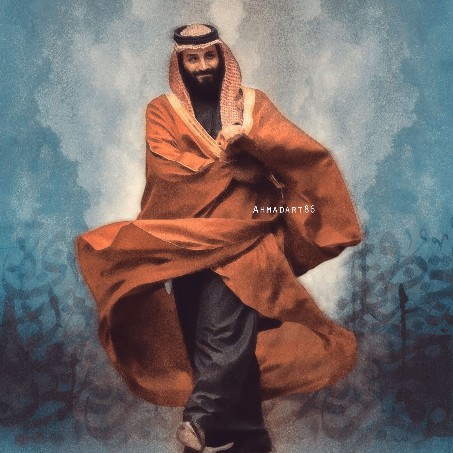 محمد بن سلمان Arabian Art Islamic Art Arabic Art