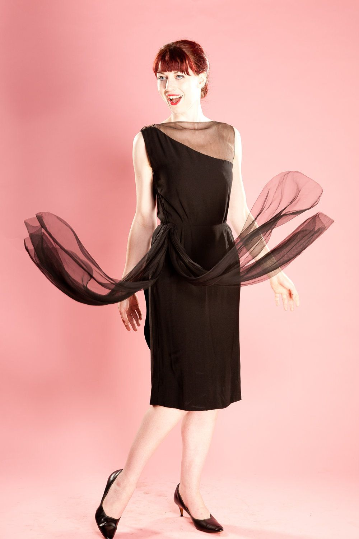 Vintage 1950s Dress Oleg Cassini   1960\'s First lady of Camelot-Oleg ...