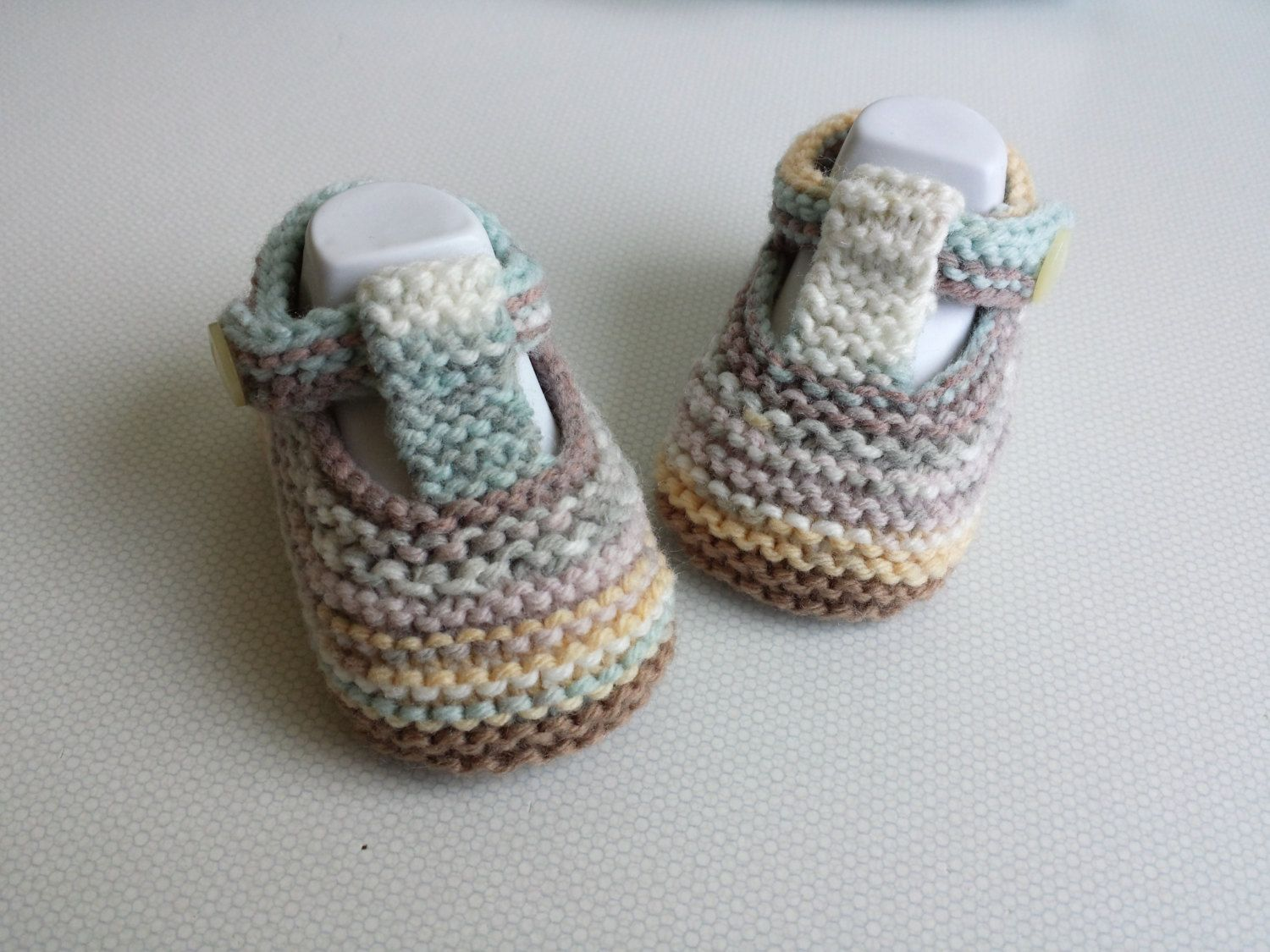 48fa51ecfa89 Hand knitted Newborn baby booties by xKnotSewPrisca on Etsy ...