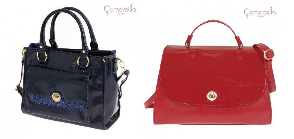 nuova versione Guantity limitata tecniche moderne Romantici fiocchi sulle borse in vernice by Camomilla ...