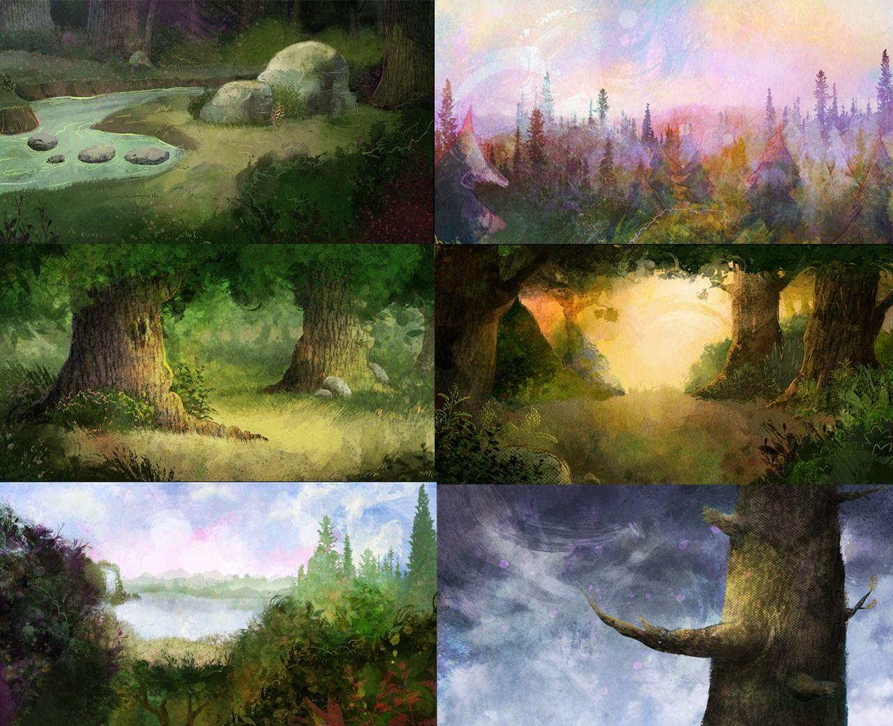 Nerd Armada Harvey Beaks Landscapes Beautiful Art Pinterest