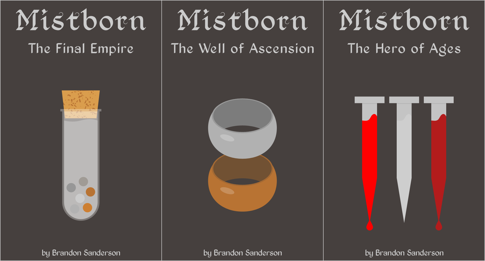 Mistborn and the three ways to use metals.