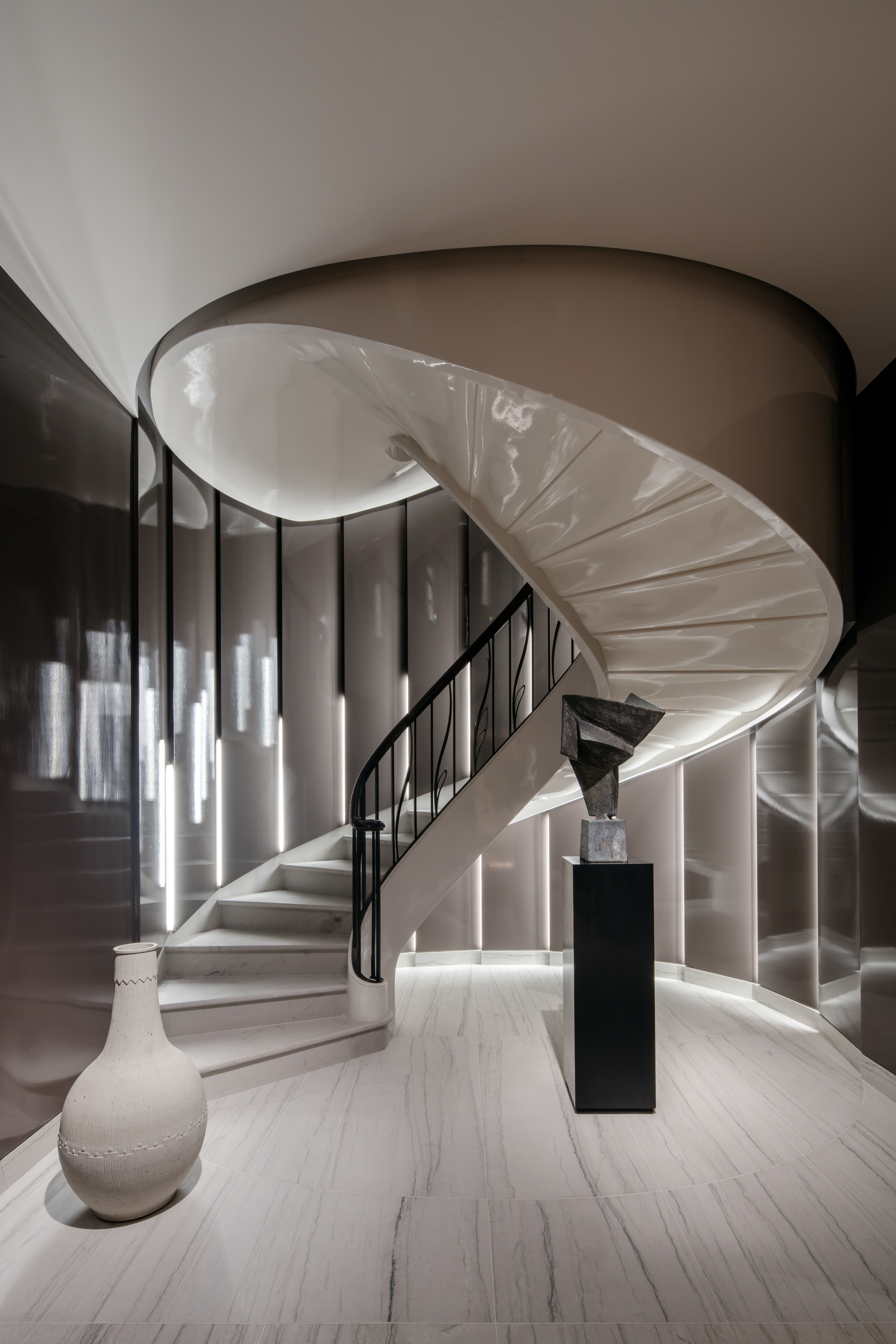 Introducing The 2019 Ad100 Stairs Design Living Area Design Interior Design Studio